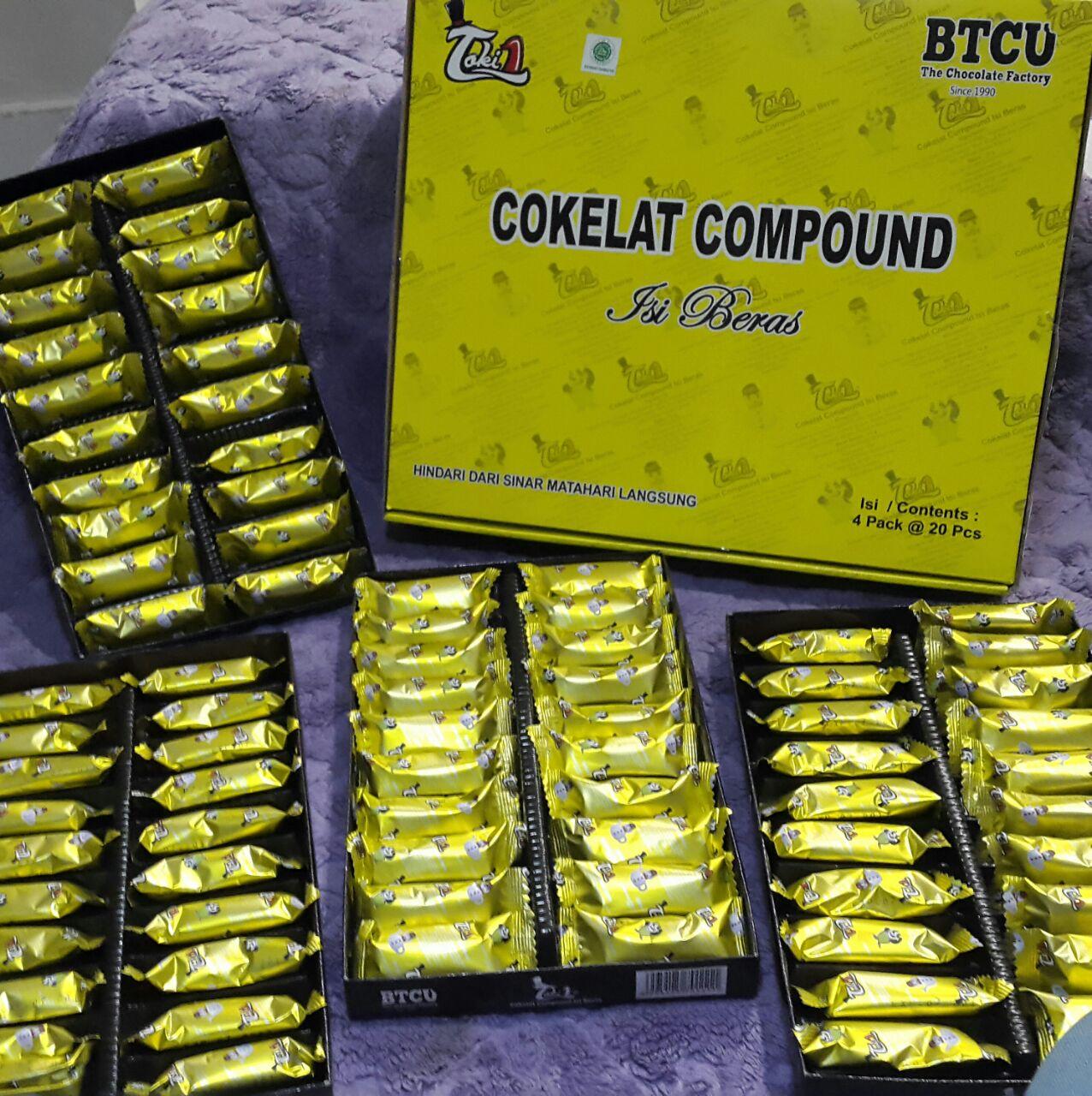 Coklat Tobelo Compound Sehat NikmatSnack Makanan Ringan
