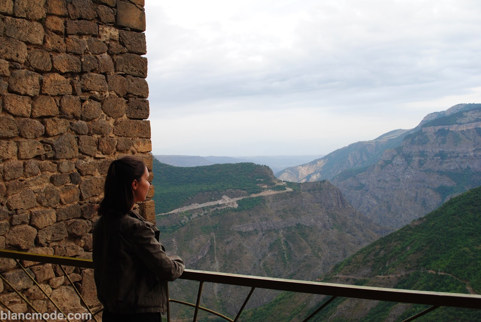 mountainous views from tatev monastery