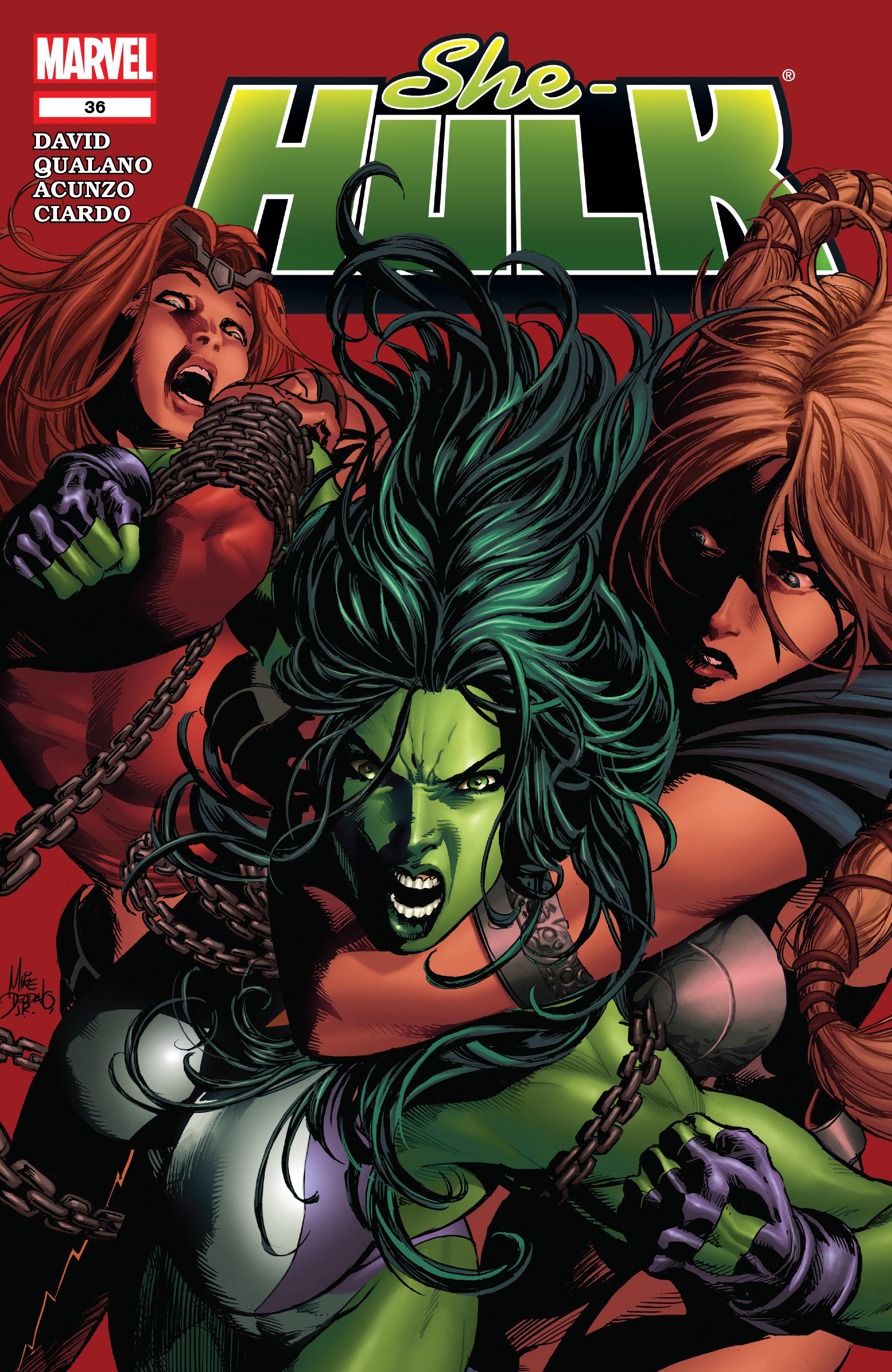 Read online She-Hulk (2005) comic -  Issue #36 - 1