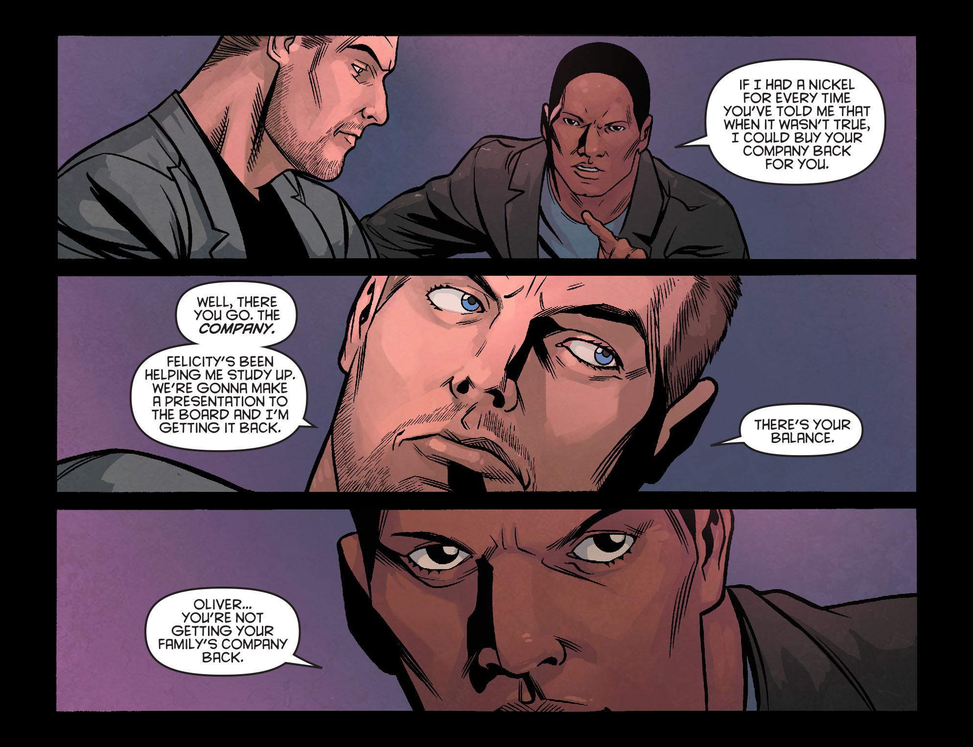 Read online Arrow: Season 2.5 [I] comic -  Issue #24 - 14