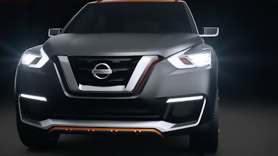 nisaan kicks suv 2016 headlight