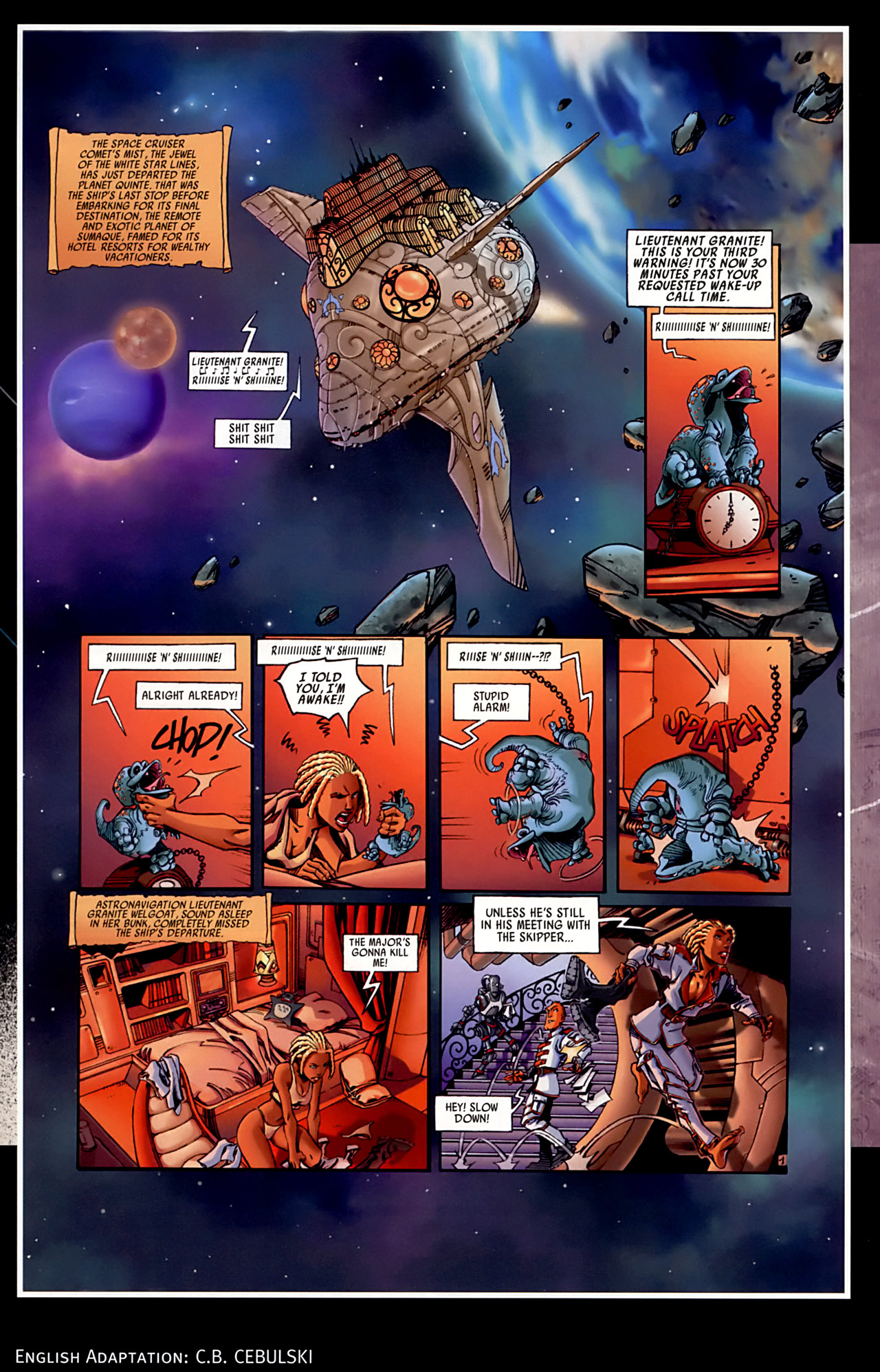 Read online Sky Doll comic -  Issue #3 - 53