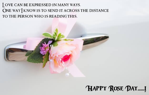 Happy Rose Day  Wishes Images