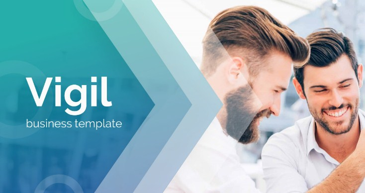 Latest Vigil Premium PowerPoint Template for Business