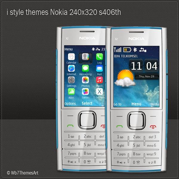 i style themes for Nokia X2-00 themes, Nokia X2-02 themes, Nokia X2-05 themes, Asha 206 themes, Nokia 301 themes, Nokia C2-05 themes, Nokia 207 themes, Nokia 208 themes, Nokia 515 themes