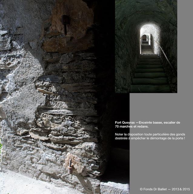 Fort de Queyras — Enceinte Basse