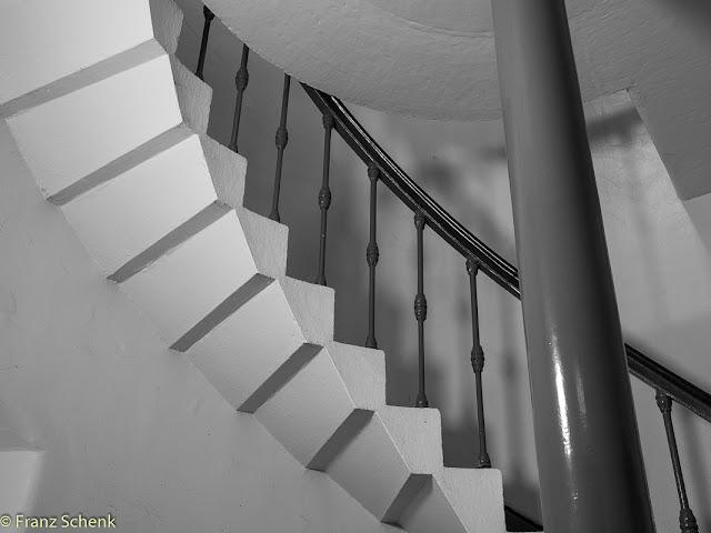 stair well Valentia Island lighthouse