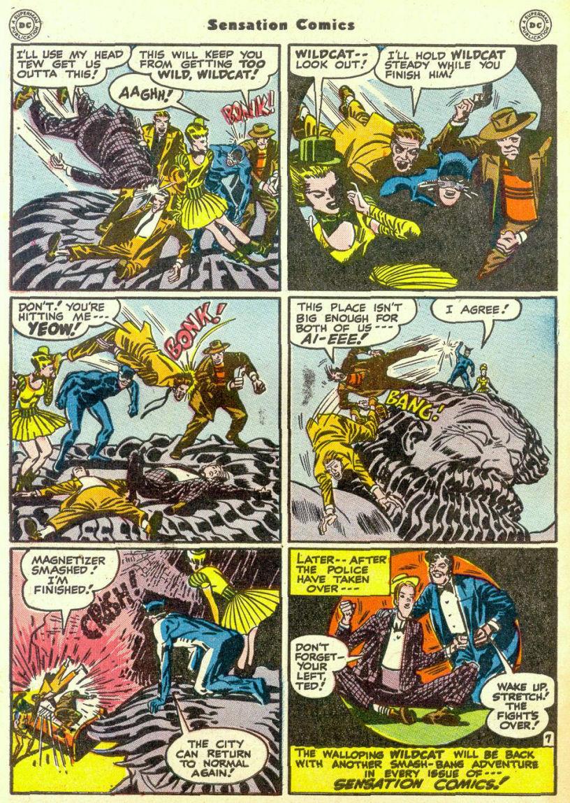 Read online Sensation (Mystery) Comics comic -  Issue #67 - 48