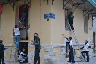 Δημιουργικός εθελοντισμός από τη ΝΕΑ ΑΚΡΟΠΟΛΗ στο Ηράκλειο Κρήτης