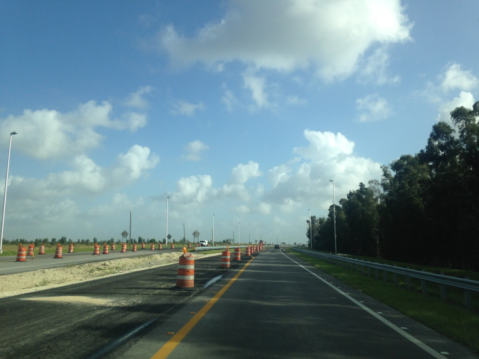at the north terminus of fl 997 i turned north on us 27 into the everglades to head back towards the tampa area