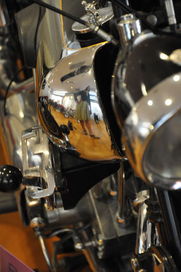 Solvang vintage motorcycle museum Brough by Lady by Choice