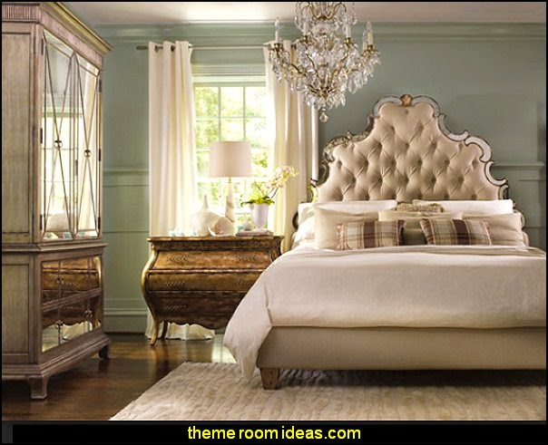 Sanctuary Tufted Bed  Hooker Furniture