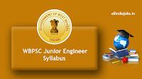 WBPSC Junior Engineer Syllabus