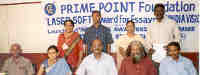 Award winners with juries - India Vision Award by Prime Point Foundation