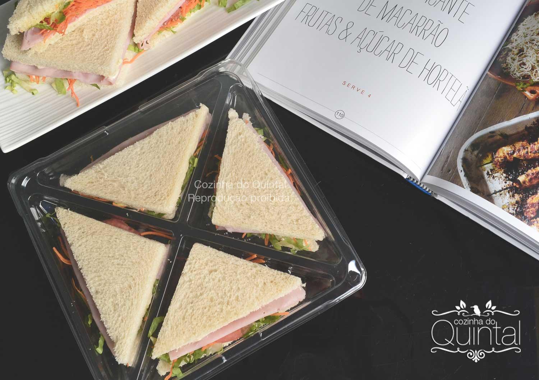 Lançamento Galvanotek na Cozinha do Quintal: G 545, bandeja quadrada com 4 divisões