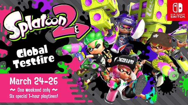 Splatoon 2 (Switch) terá demo online em março