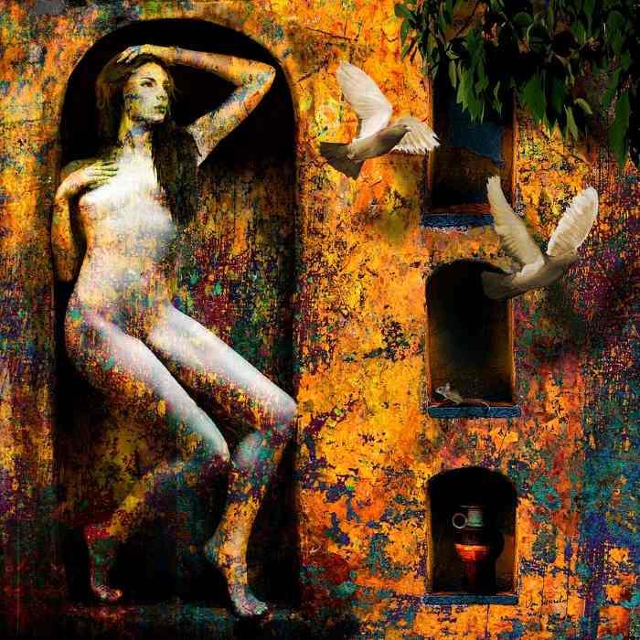 Британский цифровой художник. Van Renselar