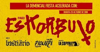 Concierto de PAKO Eskorbuto en Bogotá