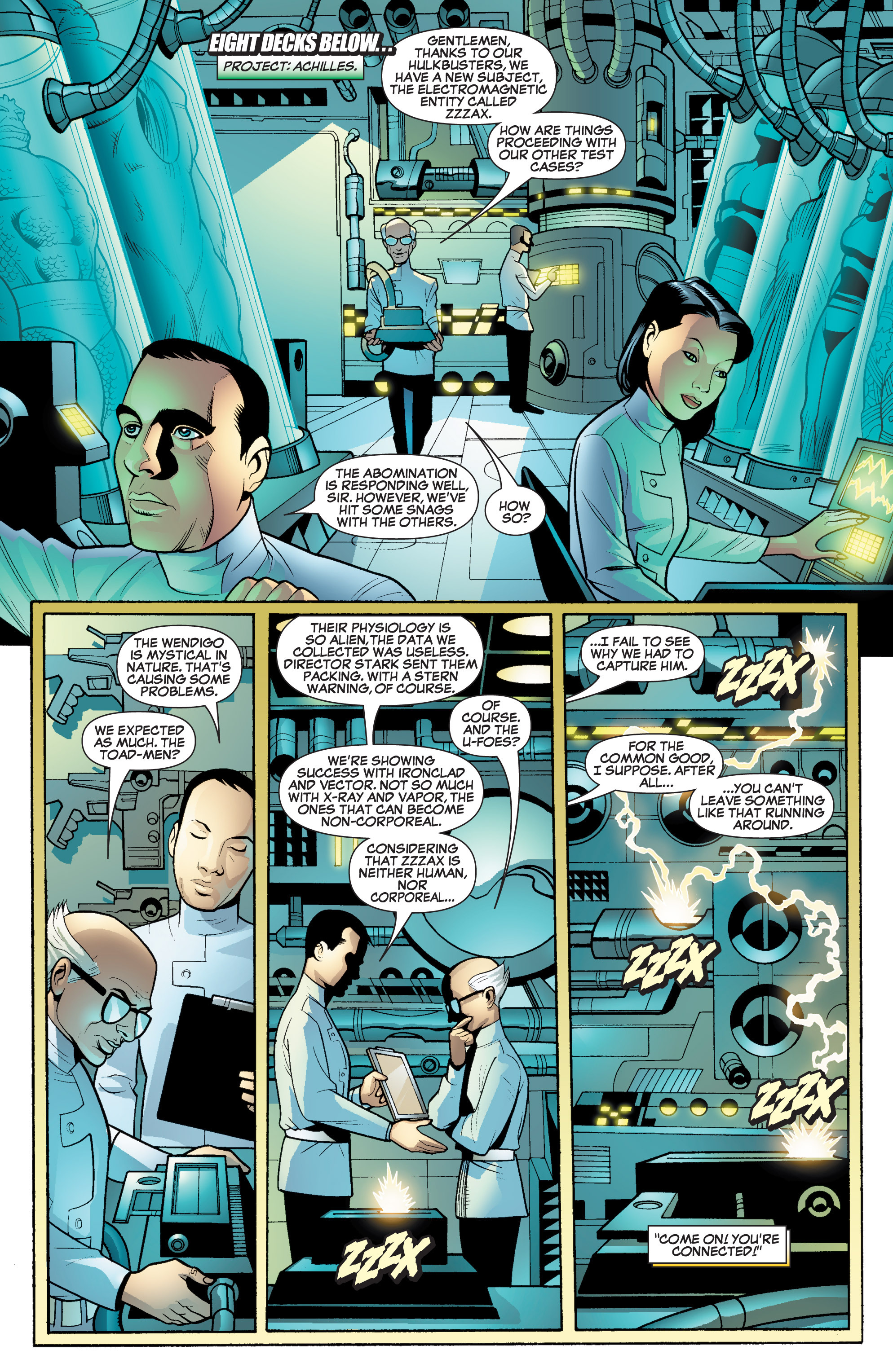 Read online She-Hulk (2005) comic -  Issue #17 - 7