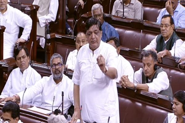 संसद में कांग्रेस, SP, JDU के नेताओं ने कहा कि 2000 के नोट बंद कर रहे हो तो हमें बता दो