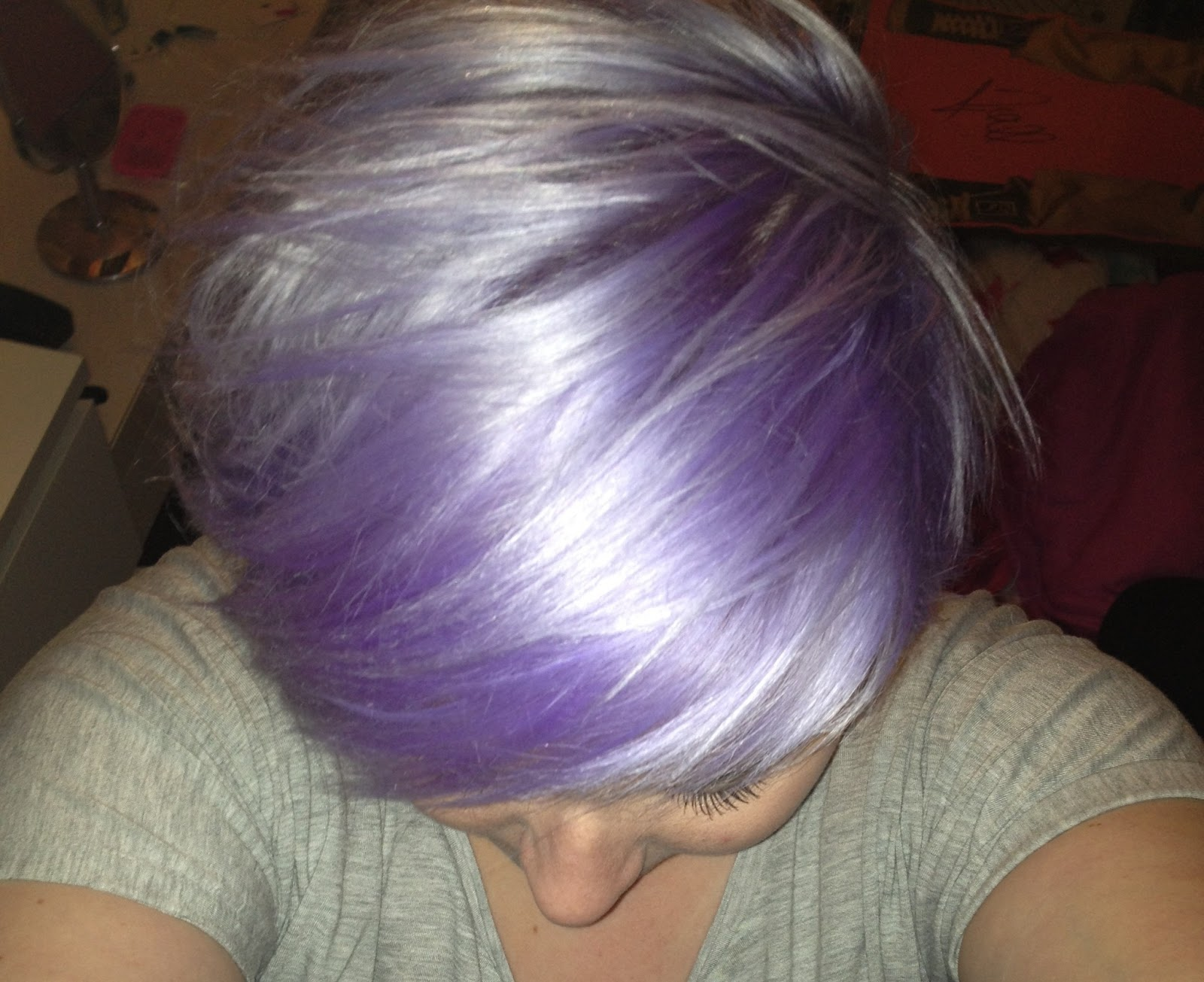 Directions Lilac Hair Dye Review Scolvinbeauty