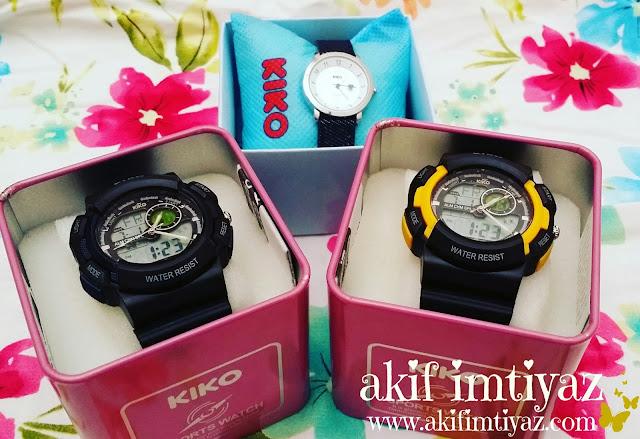 Jam tangan jenama KIKO , jam tangan KIKO , jam tangan kanak kanak , Jam tangan murah