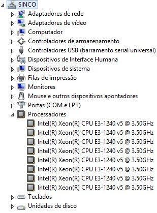 """Servidores Xeon® E3-1240V5 4-Core """"Silver Pass"""""""