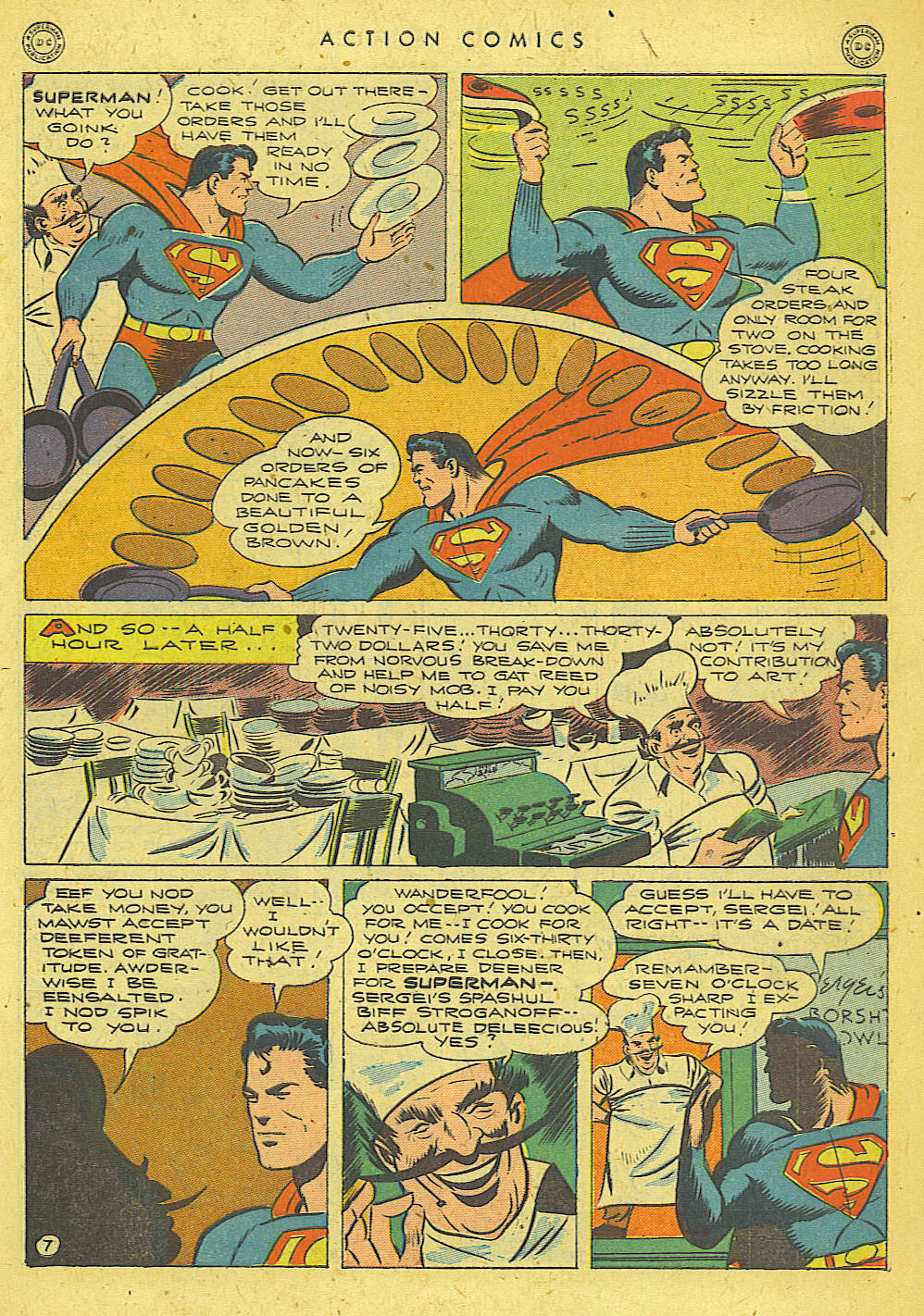 Read online Action Comics (1938) comic -  Issue #78 - 8