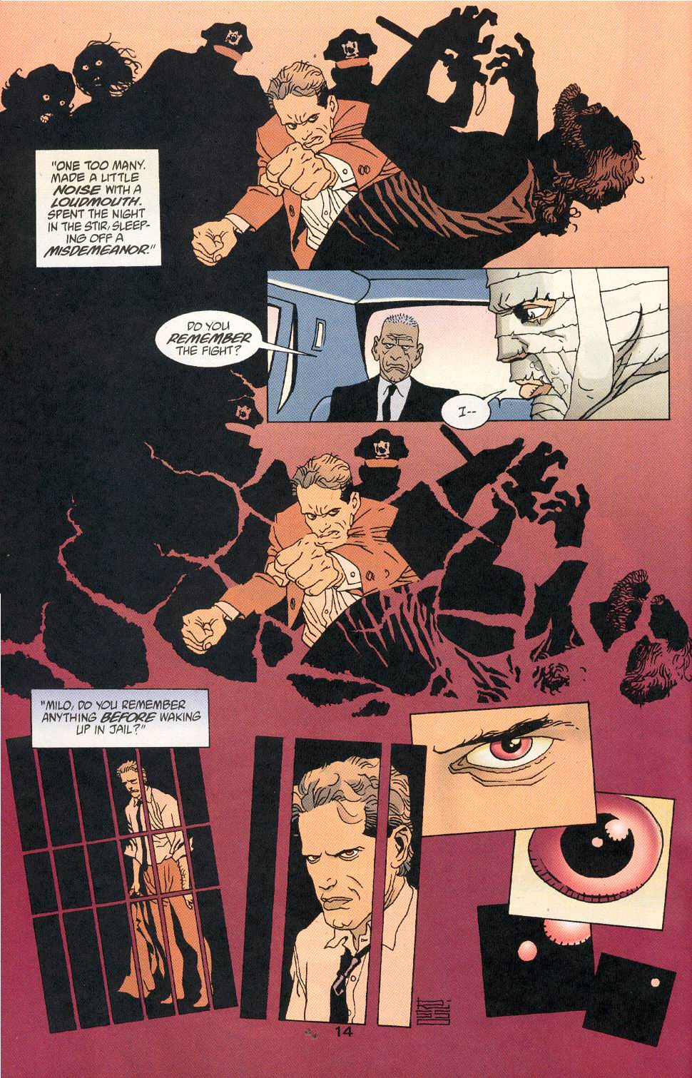 Comic 100 Bullets issue 35