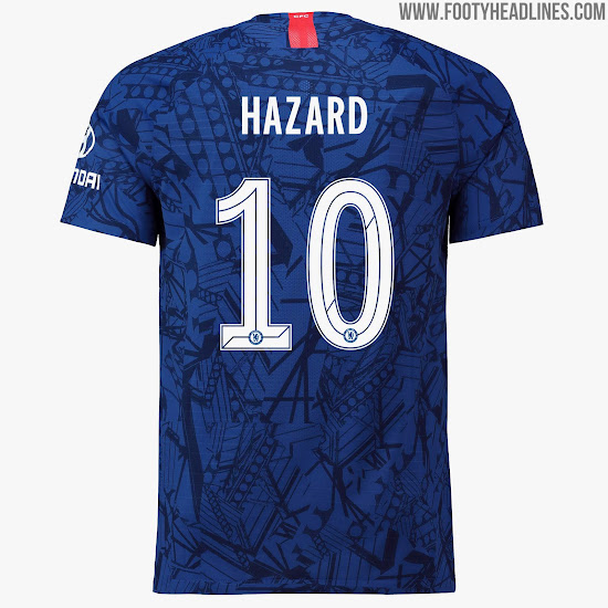 ad11e613f ... with the 2019-2020 home kit. While the Premier League font will not  change next season