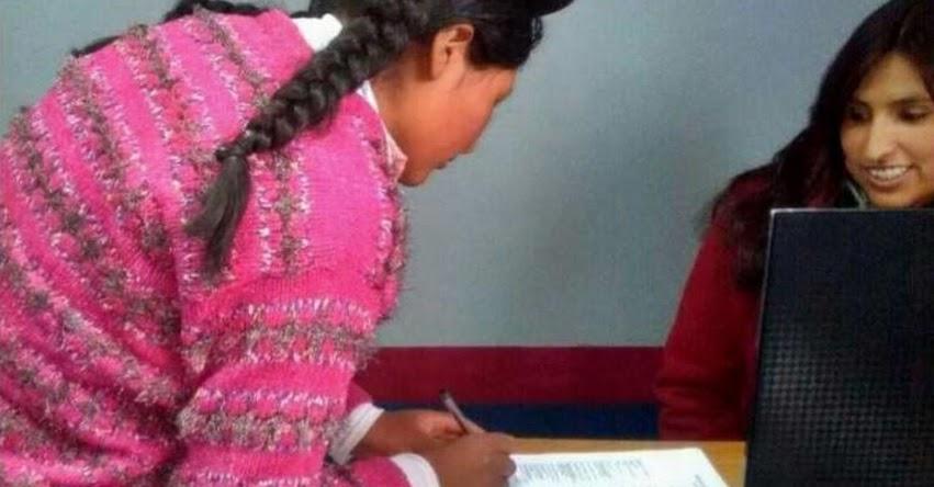 RENIEC: Nacimientos, matrimonios y defunciones se registran en actas bilingües - www.reniec.gob.pe