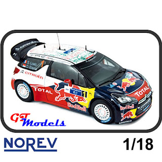 Citroen DS3 WRC - Sebastien Loeb