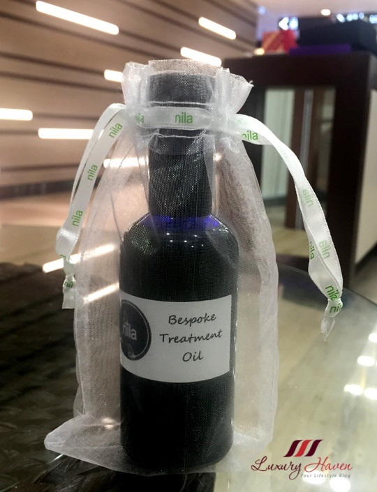 nila aromatherapy bar bespoke custom blend massage oil