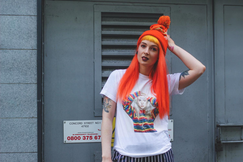 Alternative Fashion Blogger Foxxtailz styles Boohoo Trousers