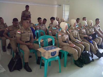 Sebanyak 419 Orang Praja IPDN Mengadakan Bhakti Karya Praja di Karawang