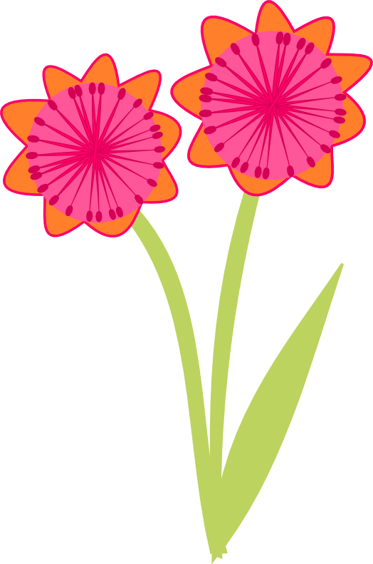 free scrapbook flower clipart - photo #16
