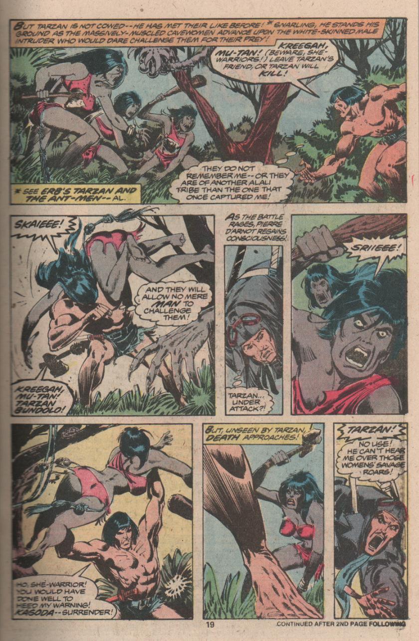 Read online Tarzan (1977) comic -  Issue # _Annual 3 - 16