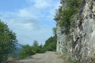 Cide köy yolu.