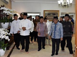 Presiden Hadiri Buka Puasa Bersama di Rumah Dinas Ketua MPR