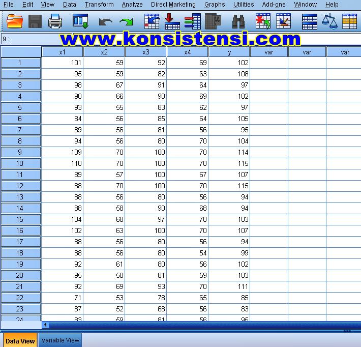 Uji Normalitas Dengan Grafik Histogram Dan P Plot Spss Konsistensi
