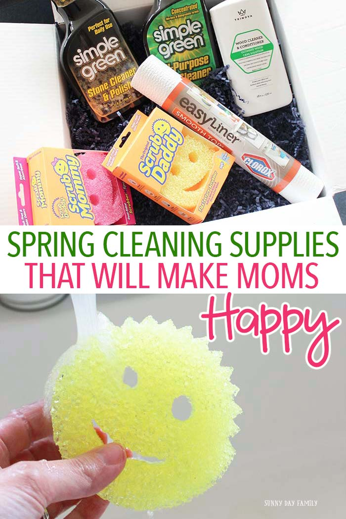 Busy moms need products that work and are safe for families. Get all your spring cleaning done and keep your family safe with these versatile cleaning supplies. Perfect for your everyday cleaning kit too!