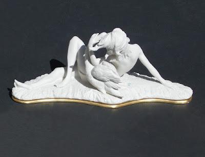 Capodimonte - gruppo scultorio - arte - porcellana - annunci
