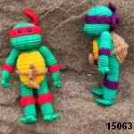 patron gratis tortugas ninjaamigurumi, free amigurumi pattern ninja turtles