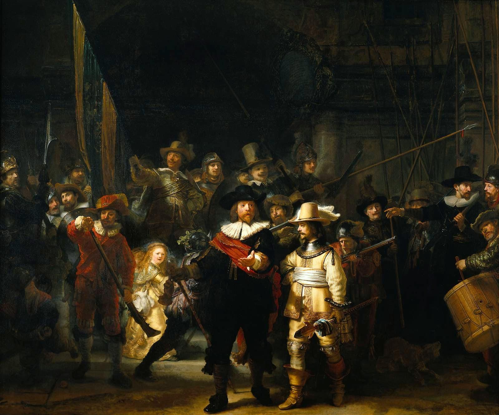 cuadro de Rembrandt cobra vida