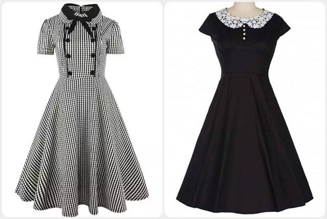 Inspiração: vestidos retrô/vintage inspired