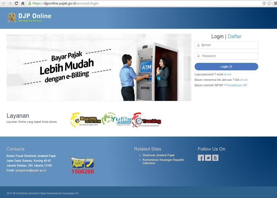 Pajak Online: Petunjuk Penggunaan E-billing Pajak Generasi 2