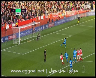 اهداف مباراة آرسنال و بورنموث 3-1| الدورى الانجليزى الممتاز