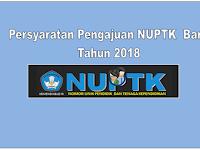 Cara Pengajuan NUPTK Baru Tahun 2018 Bagi GTT dan PNS