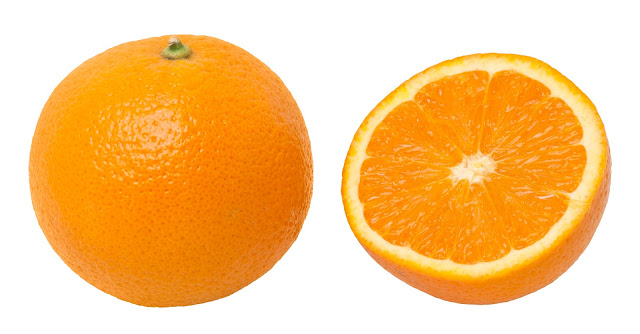 Oranges is rich vitamin C better for eyes health