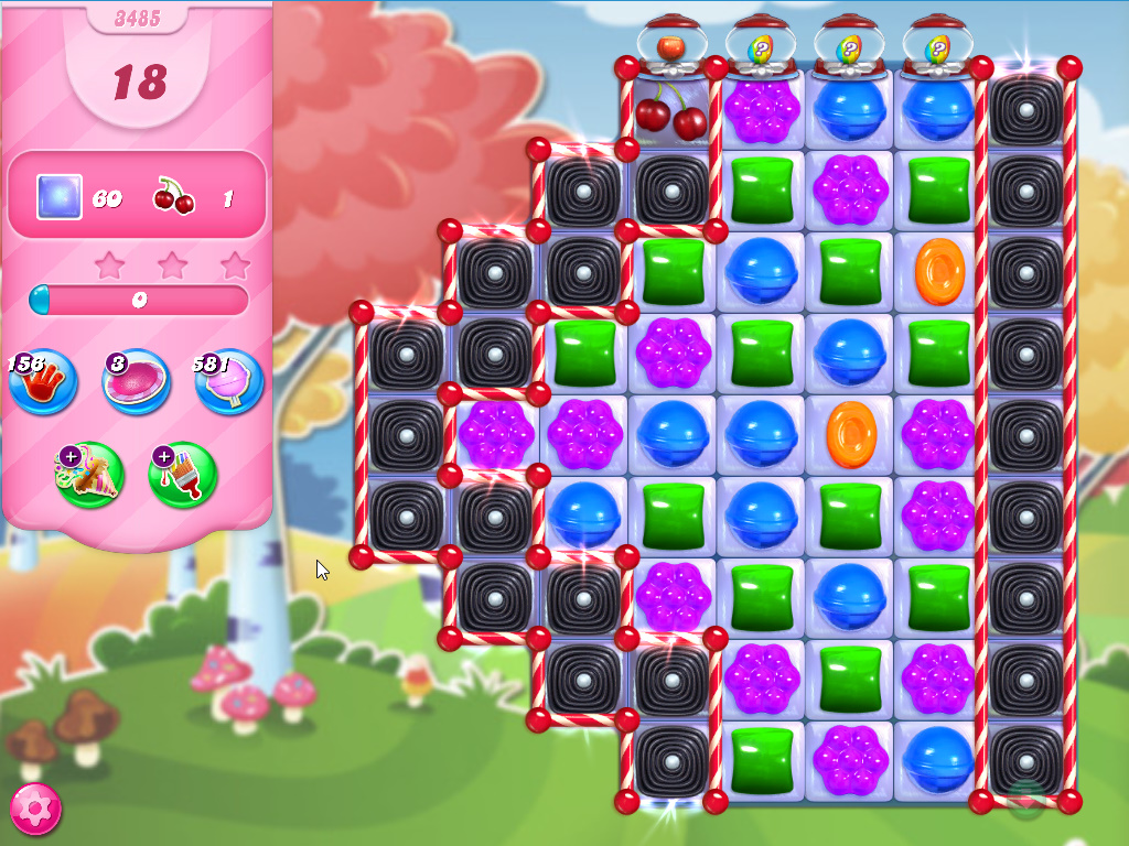 Candy Crush Saga level 3485